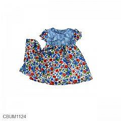 Allizberry Baju Dress Bayi Petite Bebe Size S