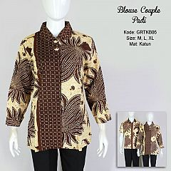 Atasan Batik Couple Padi