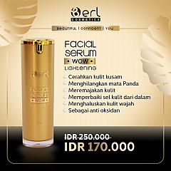 B erl WoW Lightening Facial Serum