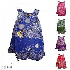 Baju Batik Anak Jesica Motif Lumut Kedondong