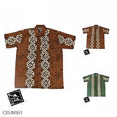 Baju Batik Anak Kemeja Motif Kotemporer Alas