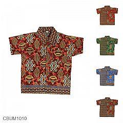 Baju Batik Anak Motif Songket Abstrak Size 0