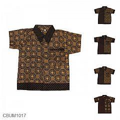 Baju Batik Anak Motif Capocino Size 0