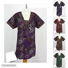 Baju Batik Sarimbit Keluarga Motif Batik Kupat