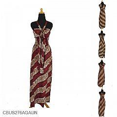 Baju Batik Sarimbit Gaun Motif Cap Parang Godheg