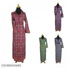 Jual Gamis Batik Sarimbit Murah Model Gamis Batik Couple