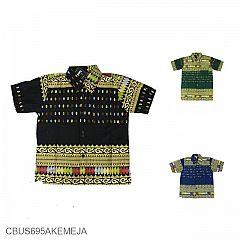Baju Batik Sarimbit Kemeja Anak Family Motif Songket Tumpal