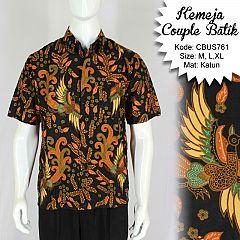 Baju Batik Sarimbit Kemeja Motif Jokowi