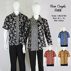 Baju Batik Sarimbit Kemeja Motif Wadas