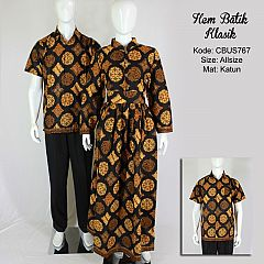 Baju Batik Sarimbit Kemeja Motif Klasik