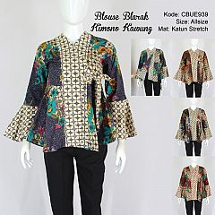 Blouse Blarak Kimono Kawung