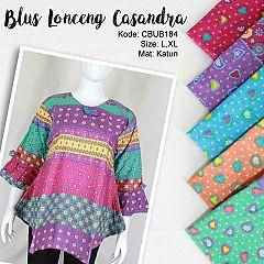 Blus Lonceng Batik Casandra