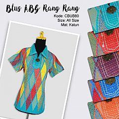 Blus Pendek ABG Motif Rang Rang Tumpal