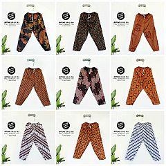 Celana Batik Panjang Anak (8-10 th)