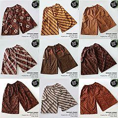 Celana Kolor Batik Super Tanggung Standar Klasik