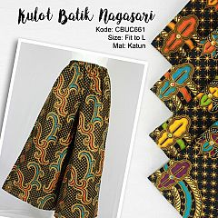Celana Kulot Batik Motif Nagasari