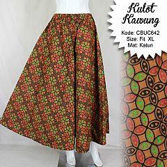 Celana Kulot Kawung Warna