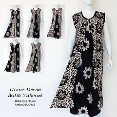 Daster Batik Dress Panjang Yukensi Maxi Sogan