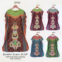 Daster Batik Lowo Hap Motif Cerah