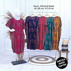 Daster Kelelawar Batik Warna