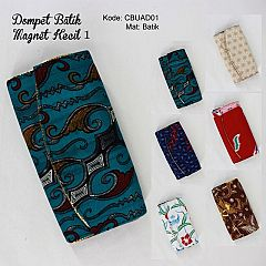 Dompet Batik Magnet Kecil 1