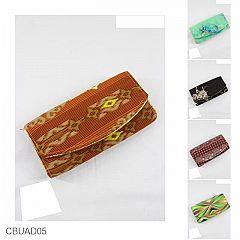 Dompet Batik Magnet List Motif Batik Mataram