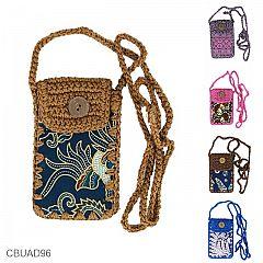 Dompet HP Rajut Batik