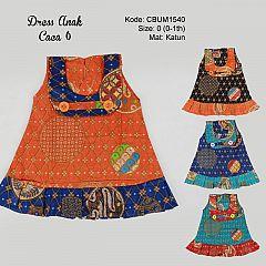 Dress Anak Caca Motif Truntum Size 0