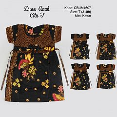 Dress Anak Cita Etnik T
