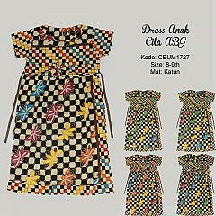 Dress Anak Cita Etnik ABG 1