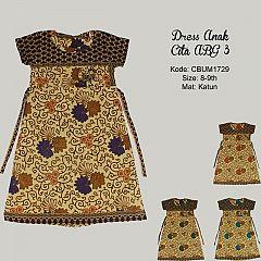 Dress Anak Cita Etnik ABG 3