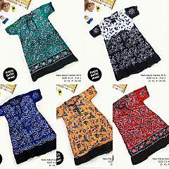 Dress Anak Daster Kaos Batik Tuban Size 3 (4-5 th)