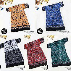Dress Anak Daster Kaos Batik Tuban Size 4  (6-8 th)