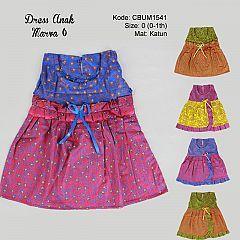Dress Anak Marva Motif Bunga Size 0