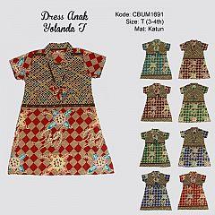 Dress Anak Nabila Wajik T