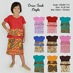 Dress Anak Nayla Etnik