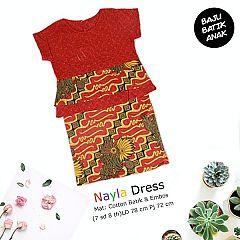 Dress Anak Nayla Etnik