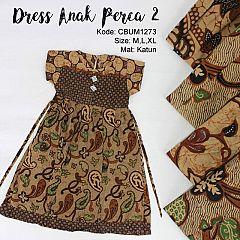 Dress Anak Perca Abstrak 2