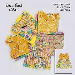 Dress Anak Perca Kotemporer Asha 1