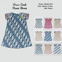 Dress Anak Tiara Warna 1