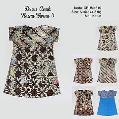 Dress Anak Tiara Warna 5