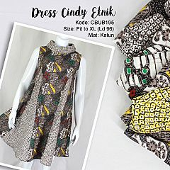 Dress Batik Cindy Etnik