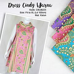 Dress Batik Cindy Warna