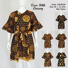 Dress Batik Lonceng Pita