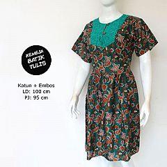 Dress Batik WIjaya Hijau