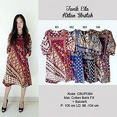 Dress Eila Batik Katun Stretch