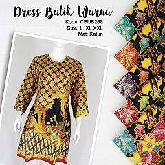 Dress Fariza Batik Motif Kawung