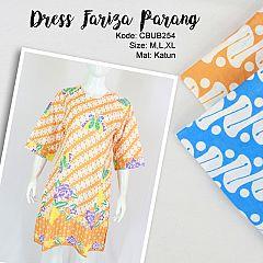 Dress Fariza Motif Parang Warna