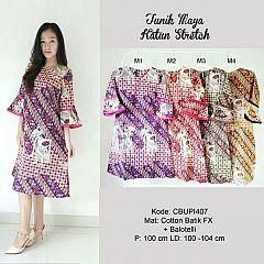 Dress Maya Batik Katun Stretch