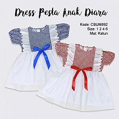 Dress Pesta Anak Diara